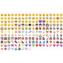 Adesivo Aplique Bordado Emoji Whatsapp 4x4 Termocolante