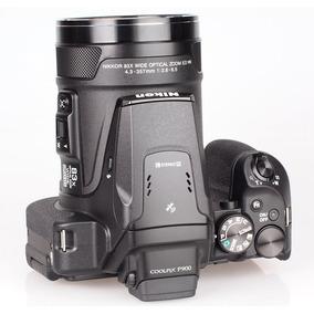 Nikon P900 Zoom 83x Vr, 16.mp Gps+wifi 64gb +bolsa, Tripé