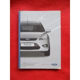 Ford Focus 2008 Manual Instrucciones Dueño Guante