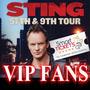 Entradas Sting Vip Fans Fila 1 Lo Mejor