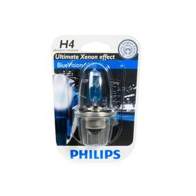 Lâmpada Super Branca Blue Vision H4 Philips (unitário)