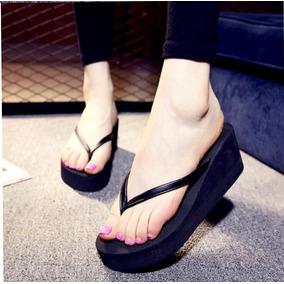 Chinelo Plataforma Feminino Novo Importado 39 Fashion