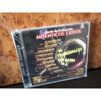 16 Tradicionales Con Banda Vol. 2. Serie De Coleccion. Cd.