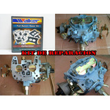 Kit Carburador Chevrolet Motor 231 262 Media Luna