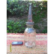Antigua Botella Aceite Lubricantes Persan Mamadera