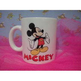 Tazas Plasticas Disney Mickey Minnie Polymero Personalizada