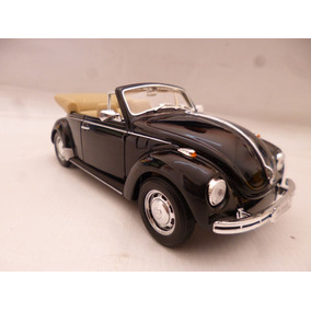 Vw Sedan Superbeetle 71 Cabrio Esc 1/24 Nuevo Autos Negro