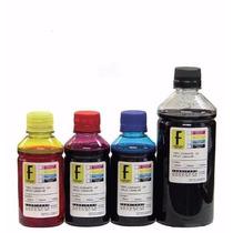 Kit 550ml Refil Tinta Eps P Impressora L200 L355 L100 L800