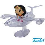 Pop Jato Invisível Mulher Maravilha Wonder Woman #16 Funko