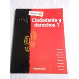 Ciudadanía Y Derechos 1 - Santillana Conocer +