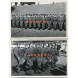 2 Fotos Militares Ejercito Arg Jura La Bandera Rosario 1960