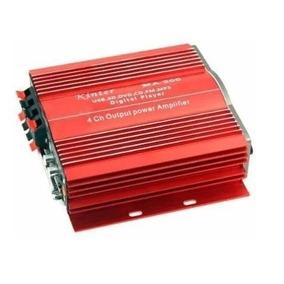 Amplificador 4 Saidas P Carro Radio Fm, Sd Card, Usb,rca Ma
