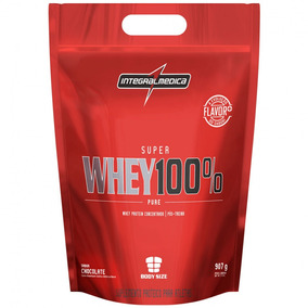 Super Whey 100% Pure Refil 907g Chocolate - Integralmédica
