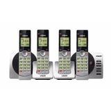 Mini Central Telefonica 4 Bases Vtech - Con Intercomunicador