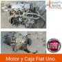 Motor Y Caja Fiat Uno