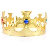 Coroa Rei Plástica Ajustável