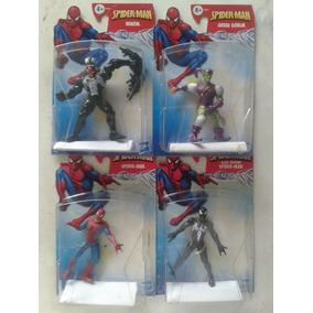 Spider Man Negro Black Venom Duende Verde Green Goblin