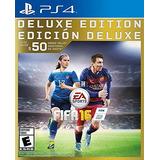 Videojuegos Ps4 Fifa 16 Deluxe Edition
