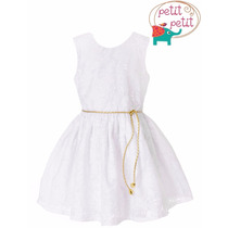 Vestido Petit Lese Branco