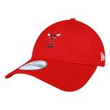 Boné New Era Aba Curva Small Chicago Bulls Vermelho