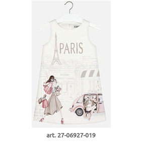 Vestido Elegante Mayoral Estilo París #12