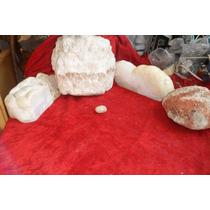Tres Piedras De Cuarzo Cristal De Roca Antiguos