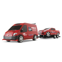 Supervan Tuning Pick-up- Van C/ Engate - Roma Brinquedos