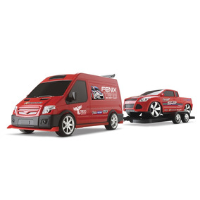 Supervan Tuning Pick-up- Van C/ Engate - Roma Brinquedos