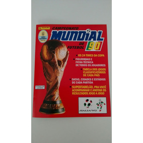 Album Copa Do Mundo 1990 - Capa Nova