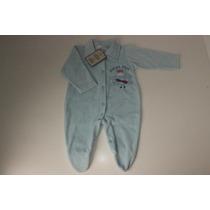 Promoção: Macacão Bebê Plush (novo) P/ Meninos - Azul Claro