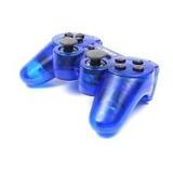 Controle Playstation2 Ps2 Azul Dualshock Analógico