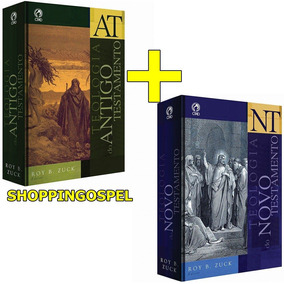 Teologia Do Novo E Antigo Testamentos 2 Livros Roy B. Zuck