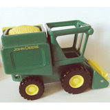 Miniatura Trator Colheitadeira John Deere Ertl Rc2 Original