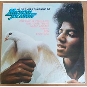 Lp Michael Jackson Os Grandes Sucessos 1975 Motown