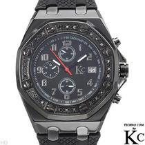 Reloj Techno Com, Crono, 24 Diamantes Acero Inoxidable 1 Sp0