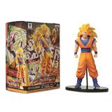 Figura Muñeco Goku Super Saiyajin 3 Banpresto Dbh En Caja