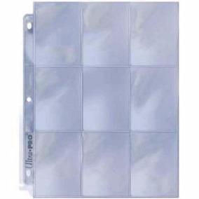Ultra Pro Pocket Protectores De 9 Bolsillos C/u