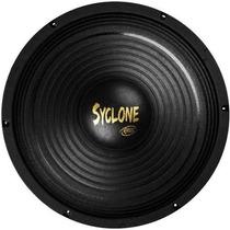 Sub Woofer Eros 12 Syclone Black 250w Rms 04 Ohms