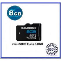 Memoria Micro Sd 8 Gb Clase 6 Celular Camaras Tablet Granel