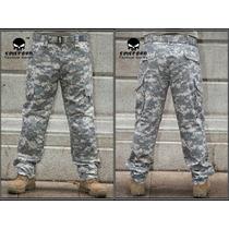 Pantalon Tactico Militar Comando Acu Us Army Orig Tallas Dis