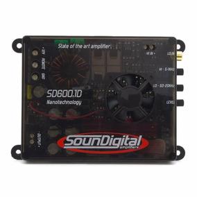 Amplificador Soundigital Sd 600 1 Canal Sd600 700w Mono 1 Ch