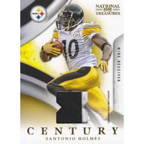 2009 Nt Century 2color Patch Santonio Holmes 46/50 Steelers