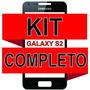 Tela Vidro Visor Galaxy S2 Gti-9100 Preto + Kit Completo