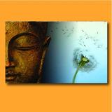 Cuadros Mural 50x100 Zen Oriental Buda Buddha Siddhartha