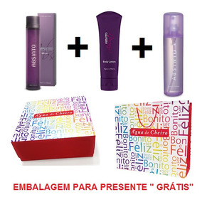 Kit Perfume Absinto Feminino Água De Cheiro