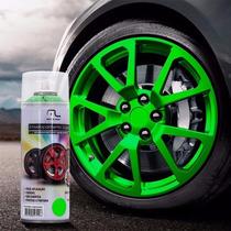 Tinta Spray Envelopamento Verde Fluorescente 400ml Multilase