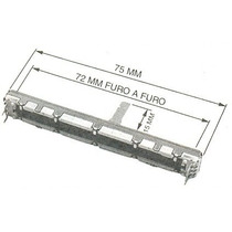 Potenciômetro Fader 10kx2 Mesa Som Behringer - Xenyx2442fx.