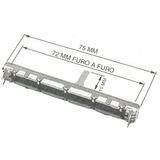 Potenciometro Fader Stereo / Mono P/ Mesa De Som Yamaha Mg