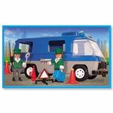 Playmobil Camion Policia Con Muñecos Y Accesorios Original