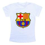 Camiseta Infantil - Barcelona Futebol